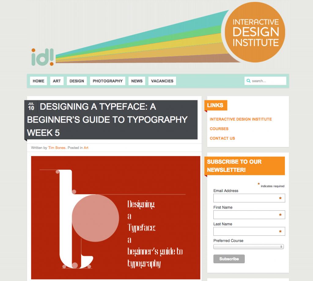 IDI Blog
