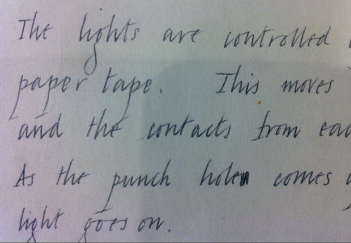 A sample of natural italic handwriting.